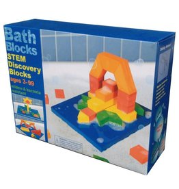 Just Think Toys Bath Blocks - STEM Discovery Blocks