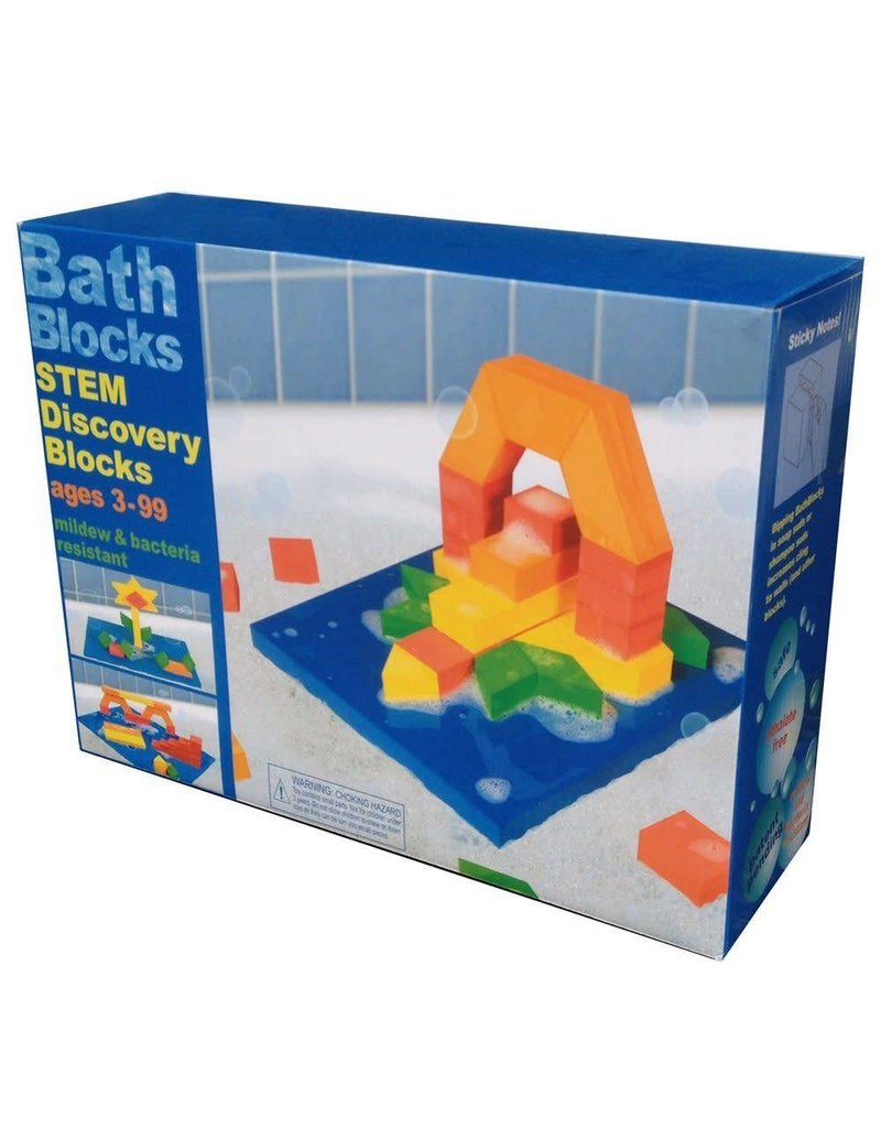 Just Think Toys Bath Blocks - STEM Discovery Blocks