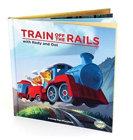 Green Toys Train off the Rails Book