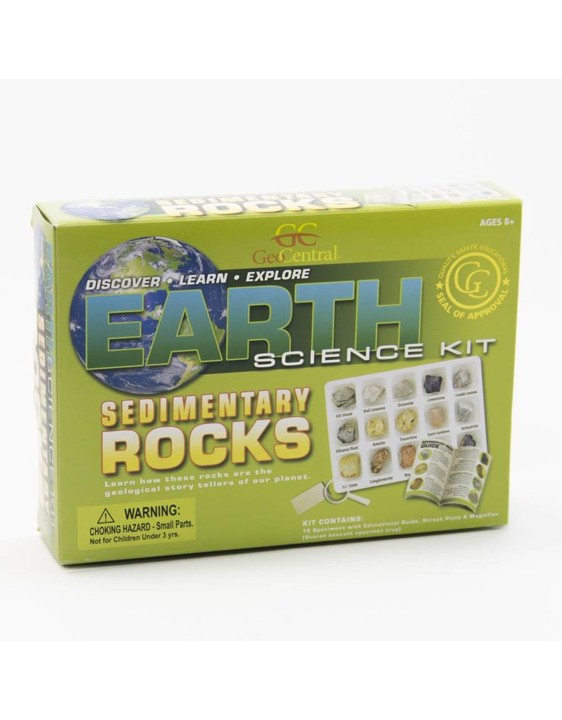 EARTH SEDIMENTARY ROCK KIT