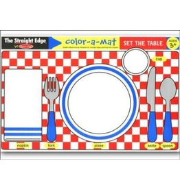 Melissa & Doug Learning Mat - Set the Table