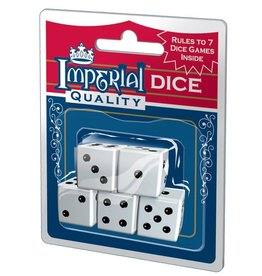 PLAYMONSTER Imperial Dice - White 5pc