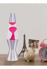 Lifespan Brands LLC 11.5'' Lava Lamp - Pink Lava/Clear Liquid