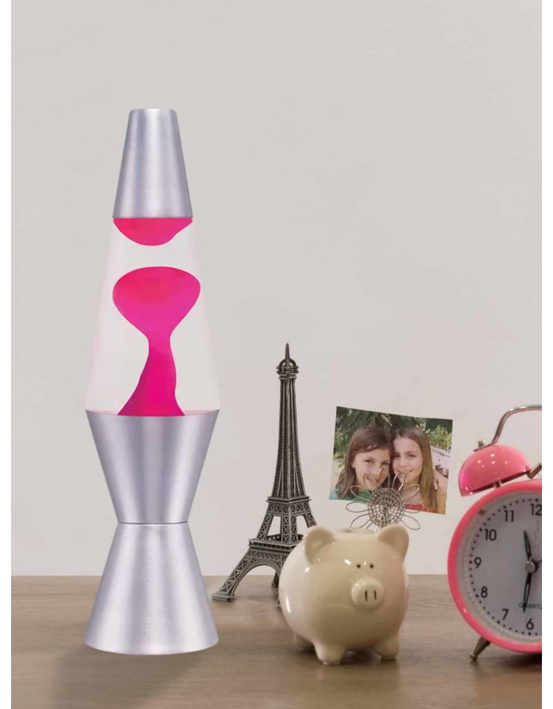 Lifespan Brands LLC 11.5'' Lava Lamp - Pink with Clear Liquid