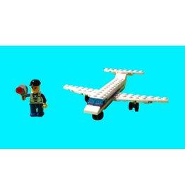 Hobbies Unlimited Mini Transportation Airplane Egg