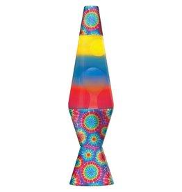 """Lava Lite 14.5"""" Firework Lava Lamp - Tricolor Spiral"""