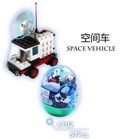 Wange Space Series Egg Blocks 6702 (2 of 6 Assorted Styles)
