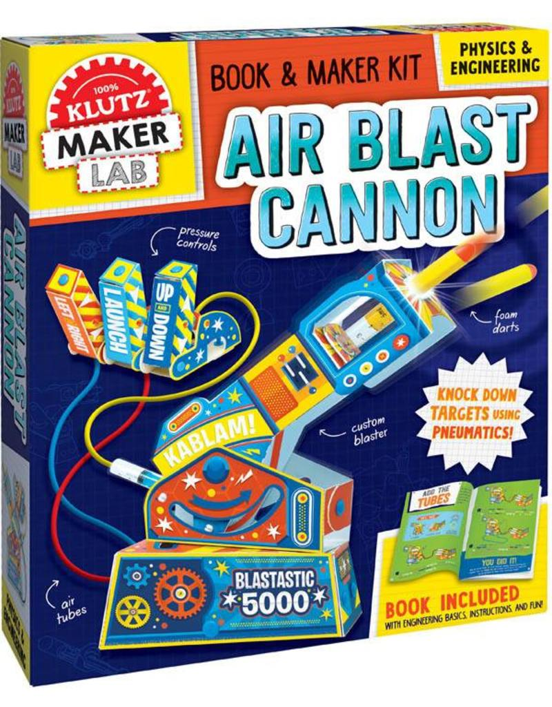 Klutz Build Your Own Air Blast Cannon