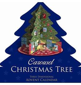 babalu Carousel Christmas Tree Advent Calendar