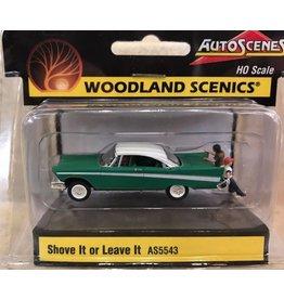 Woodland Scenics Shove It or Leave It - Assembled - AutoScenes(R)