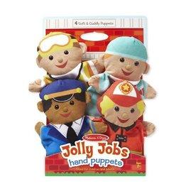 Melissa & Doug Jolly Helpers Hand Puppets