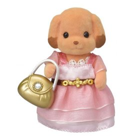 Calico Critters Town Girl Series - Laura Toy Poodle