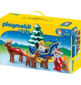 Playmobil Playmobil Santa Claus with Reindeer Sleigh