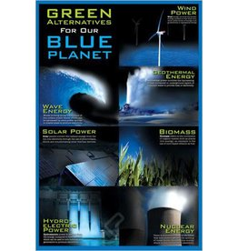 Safari Ltd. Green Alternatives / Blue Planet Poster