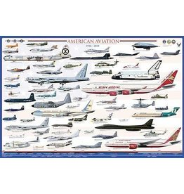 Safari Ltd. American Aviation Poster