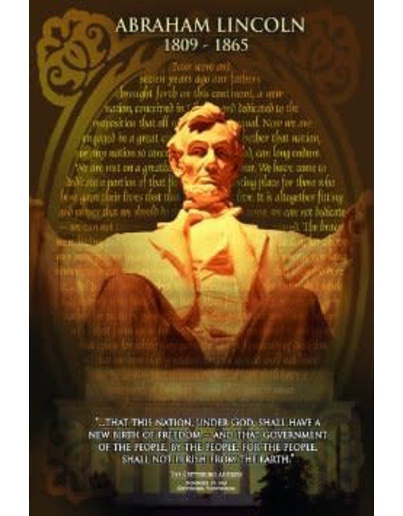 Safari Ltd. Abraham Lincoln Poster