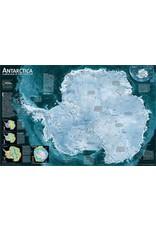 National Geographic Antarctica Satellite [Laminated]