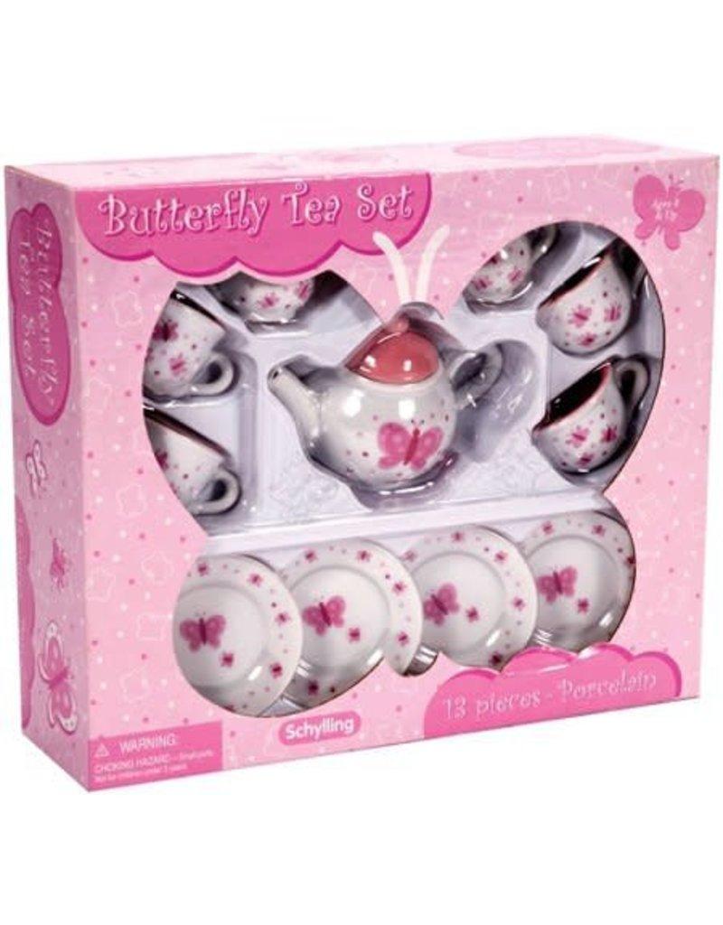 Schylling Toys Butterfly Teaset