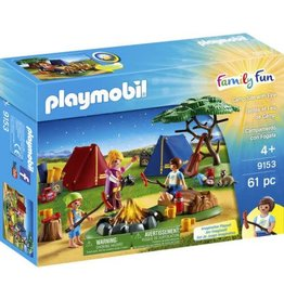 Playmobil Playmobil Camp Site with Fire