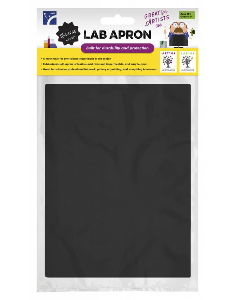American Educational Products Black Lab Apron