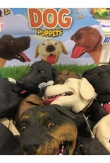 Schylling Toys Plastic Stretchy Dog Puppet (Assorted)