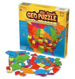 Geo Toys USA and Canada GeoPuzzle