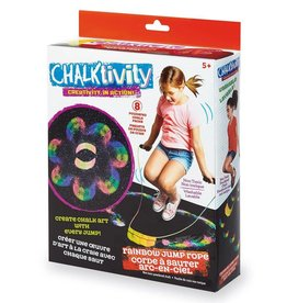 International Playthings Chalktivity Rainbow Jump Rope