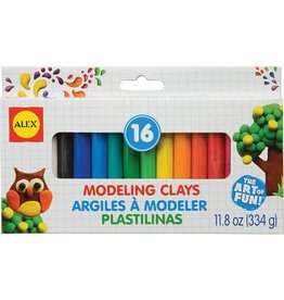 Alex Brands 16 Color Modeling Clay