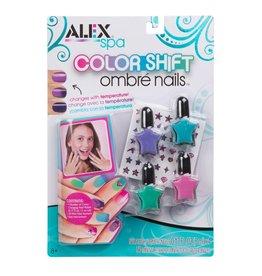 Alex Brands Color Shift Ombre Nails