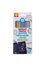 Alex Brands 12 Metallic Pencils