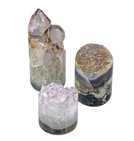 GeoCentral Amethyst Crystal Cupcake (sold individually)