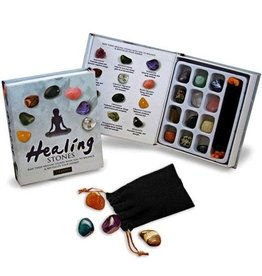 GeoCentral Healing Stone Collectin Box (12 Stones)