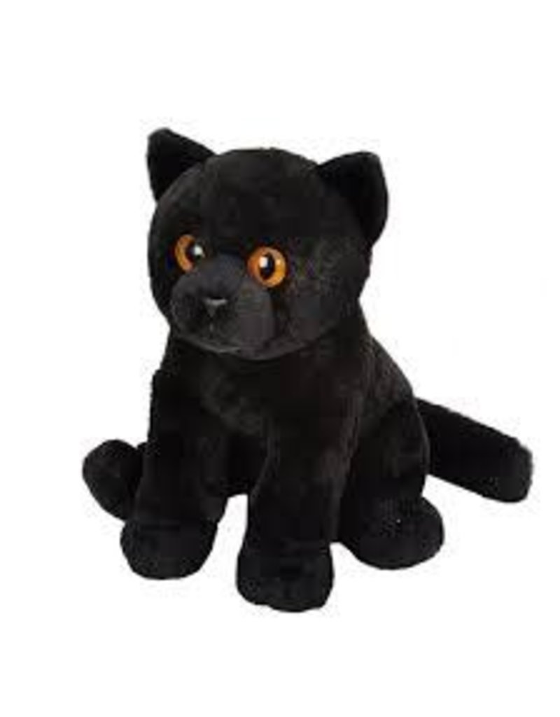Wild Republic Pet Shop Black Cat plush