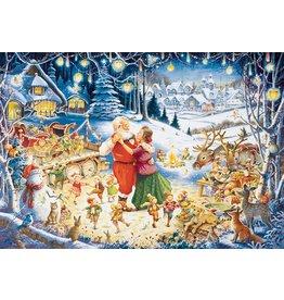 Ravensburger Santa's Christmas Party 1000pc Puzzle