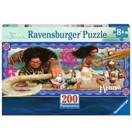 Ravensburger Disney Moana 200pc Puzzle Panorama