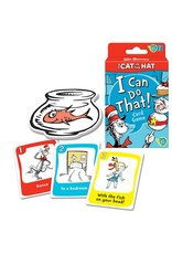 Ravensburger Dr. Seuss The Cat in the Hat I Can Do That! Card Game