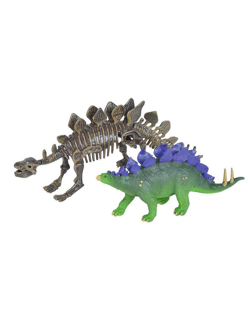 Wild Republic Dino W / Skeleton Stegosaurus