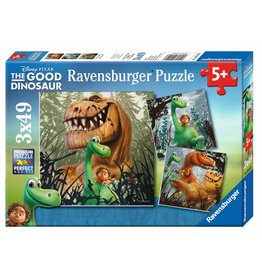 Ravensburger The Dino Gang (3 x 49 pc Puzzles)