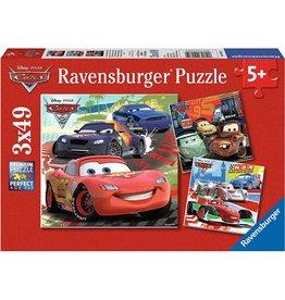 Ravensburger Worldwide Racing Fun (3 x 49 pc Puzzles)