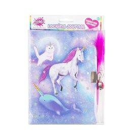 3 Cheers for Girls Celestial Unicorn Locking Dream Journal