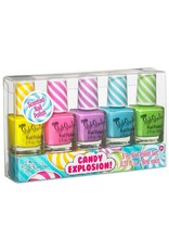 3 Cheers for Girls Candy Explosion Scented Nail Polish - 5pc Set