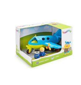 """Viking Toys 10"""" Large Fun Color Jet Plane"""