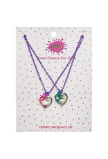 3 Cheers for Girls Best Friends Necklace Set - Mermaids