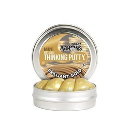 Crazy Aaron Putty Crazy Aaron's Thinking Putty - Mini Metallic Brilliant Gold