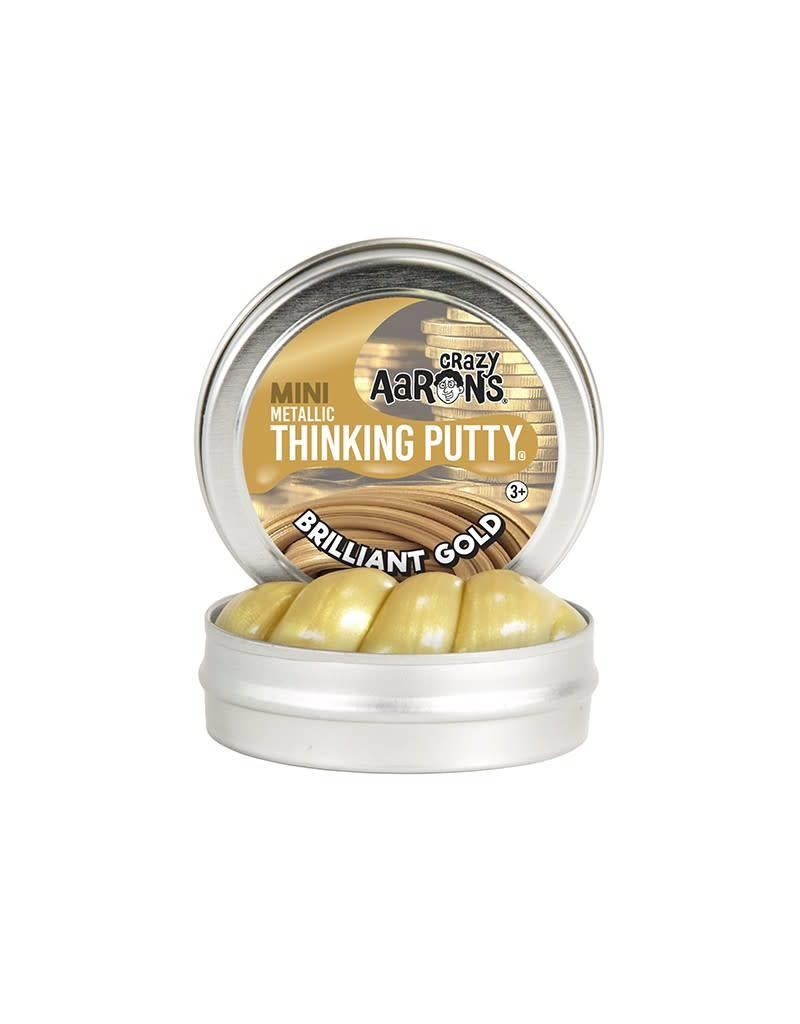 Crazy Aaron Putty Crazy Aaron's Mini Metallic Thinking Putty - Brilliant Gold