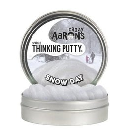"Crazy Aaron Putty Snow Day 4"" Tin with cardboard cut out"