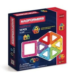Schylling Toys Magformers Rainbow 14pc Set
