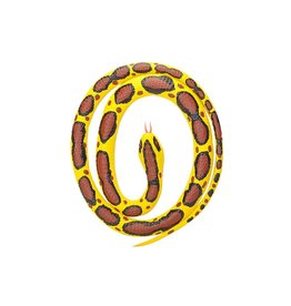 Wild Republic Rubber Snake Burmese Python