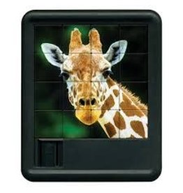 Family Games America Animal Kingdom Sliding Puzzle - Giraffe