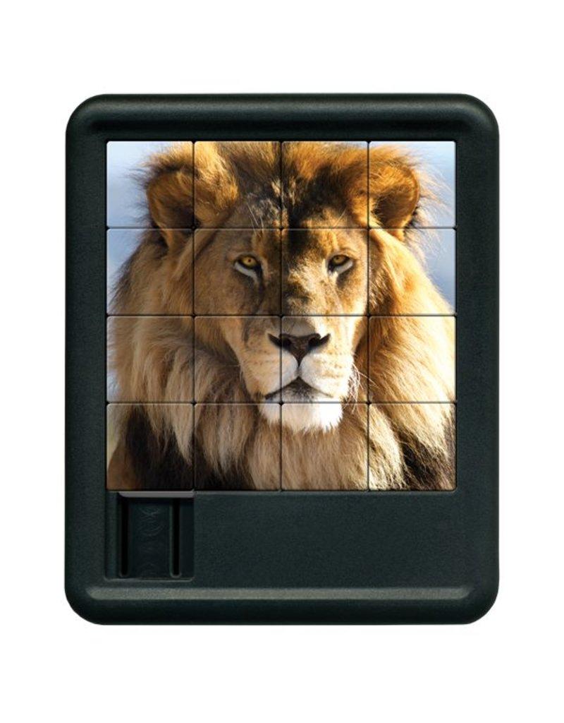 Family Games America Animal Kingdom Sliding Puzzle - Lion